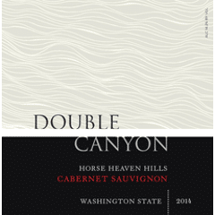 Double Canyon, Horse Heaven Hills, Cab Label