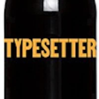 Typesetter, Cabernet Sauvignon Napa Valley Label