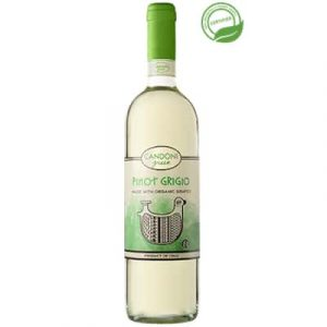 Candoni Organic Pinot Grigio Bottle