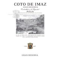 El Coto, Coto De Imaz Rioja Gran Reserva Label