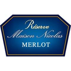 Maison Nicolas Merlot Label