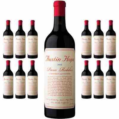 Austin Hope Winery, Cabernet Sauvignon 2018 12-Bottles
