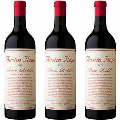 Austin Hope Winery, Cabernet Sauvignon 2018 3-Bottle