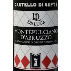 De Luca, Montepulciano d'Abruzzo Castello di Septe Label