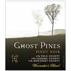 Ghost Pines Pinot Noir Label