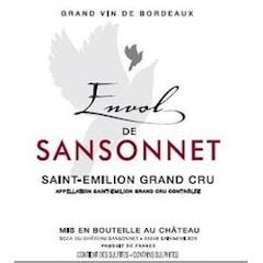 Château Sansonnet, Saint-Émilion Grand Cru Envol de Sansonnet Label