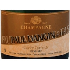 Paul Dangin & Fils, Champagne Brut Cuvée Carte Or Label