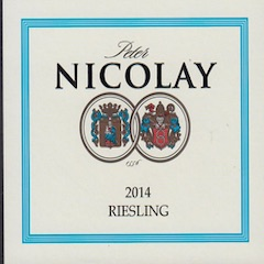Peter Nicolay Riesling Mosel Label