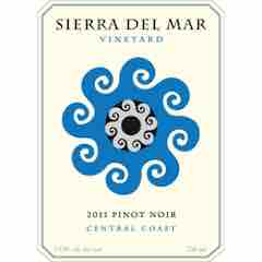 Sierra del Mar, Central Coast Pinot Noir Label