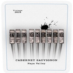 The Critic, Cabernet Sauvignon Napa Valley Label
