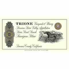 Trione River Road Ranch Sauvignon Blanc Label