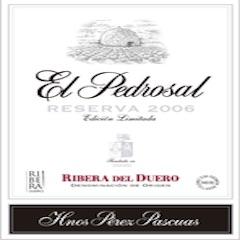 Bodegas Hermanos Pérez Pascuas, Ribera del Duero El Pedrosal Reserva Limited Edition (2009) Label