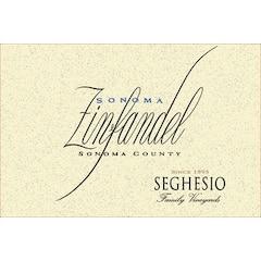 Seghesio Family Vineyards, Zinfandel Sonoma County Label